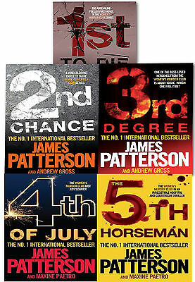 Womens Murder Club Collection James Patterson 5 Book Set (1 to 5) 1st to Die