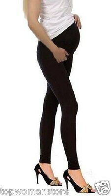 Top Woman Thick Warm Maternity Cotton Leggings Pregnancy Clothes All Size