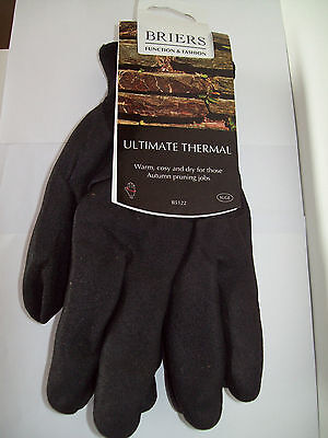 BRIERS ULTIMATE THERMAL GLOVES -  Med / XLge
