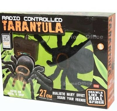 Huge Hairy Radio Controlled Remote Tarantula - Brand New Rc Spider Rrp £22.99