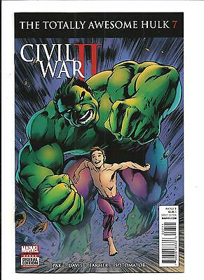 THE TOTALLY AWESOME HULK # 7 (CW2, AUG 2016), NM NEW (Bagged & Boarded)