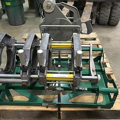 "McElroy DynaMc 28 EP 4 Jaw Pipe Fusion Machine HDPE Poly Welder, 2""-8"""