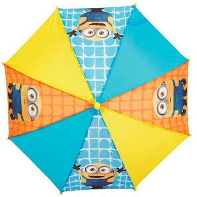 Minions Umbrella Children's Despicable Me Minion Brolly Kids' Waterproof Dome