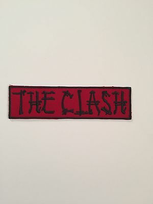 The Clash Embroidered Patch Iron on or Sew on