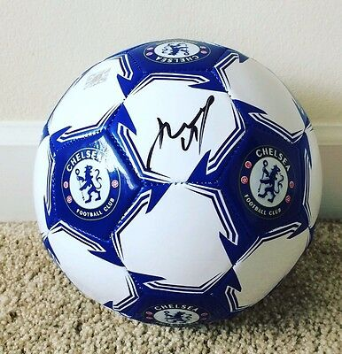 Didier Drogba Signed Autograph Chelsea Full Size 5 Soccer Ball Ivory Coast MLS