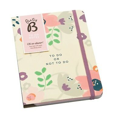 Busy B A5 2017 Floral Design To Do or Not To Do Notebook