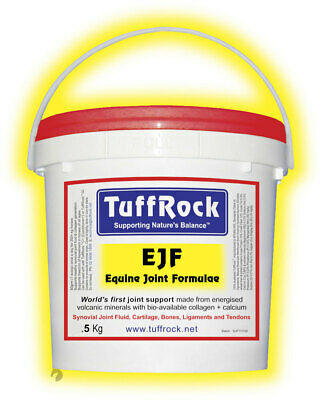 TuffRock EJF Equine Joint Food world first Joint+Coat+Hoof+Digestive supplement