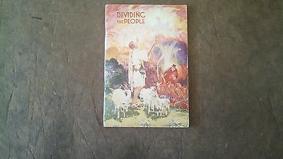 Watchtower Booklet 1933 Dividing The People
