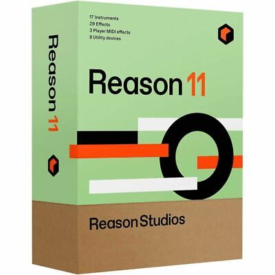 Propellerhead Reason 10 Music Production Software *BRAND NEW Full Retail Version