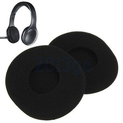 1 Pair Replacement Sponge Ear Pads Earpad Cushion For Logitech H800 Headphone YG
