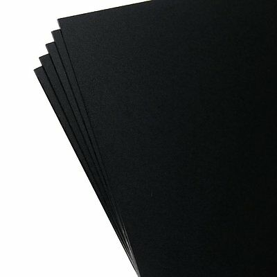 """5 Pack Kydex Plastic Sheets Black 8"""" X 12"""" X .080"""" by Kydex T BRAND NEW"""