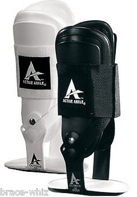 T2 Active Ankle Brace Black or White Volleyball Basketball Bracing by Bracewhiz