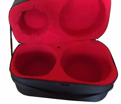Ultra-Safe Super-Padded Indian Tabla Drum Designer Hardcase. Full Size.