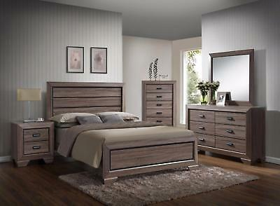 Crown Mark RB5500 Farrow King Size Bedroom Set 5pc. Transitional style