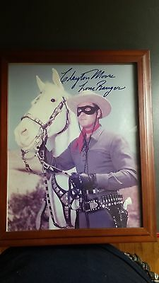 """Clayton Moore """"Lone Ranger"""" Autographed Photo"""