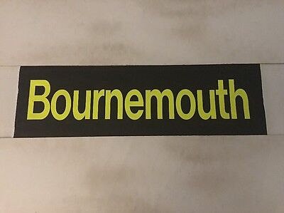 """Hampshire Bus Blind N31 (31"""") - Bournemouth"""