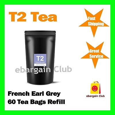 T2 Tea French Earl Grey 60 Tea Bags Refill