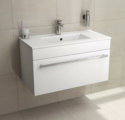 White Bathroom Furniture Suite Set StTropez Vanity Storage Cabinet Cupboard Unit