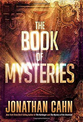 The Book of Mysteries by Jonathan Cahn ( Classics & Allegories) (Hardcover) NEW