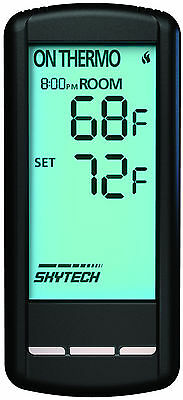 Skytech SKY-5301 LCD Touch Screen Fireplace Remote Control with Timer/Thermostat