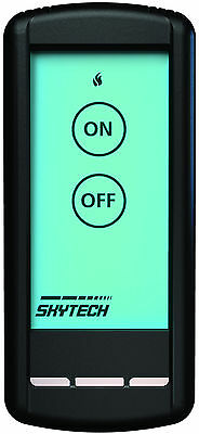 Skytech SKY-5001 Backlit LCD Touch Screen Fireplace Remote Control On/Off