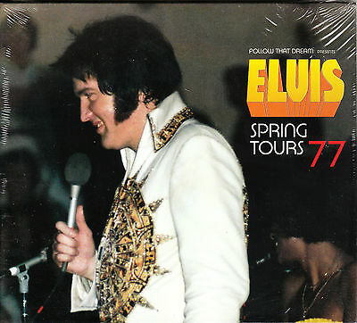 Elvis Presley - SPRING TOURS 77 - FTD 17 New / Sealed CD
