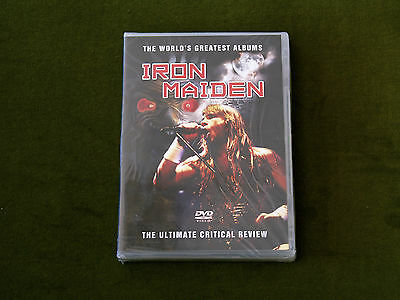 IRON MAIDEN WORLD'S GREATEST ALBUM ULTIMATE CRITICAL REVIEW DOCUMENTARY DVD New