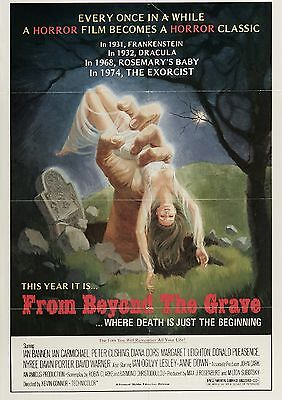 From Beyond The Grave - Peter Cushing - Ian Ogilvy - A4 Laminated Mini Poster