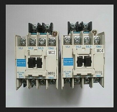 USED MITSUBISHI USED SD-N11 DC24V Dc contactor tested