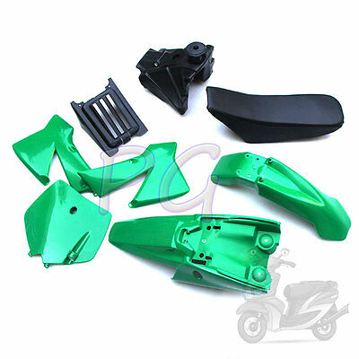 Brandew Ktm50 Green Plastics Fender Cover Tank Seat Kit Jr Sr Motocycle