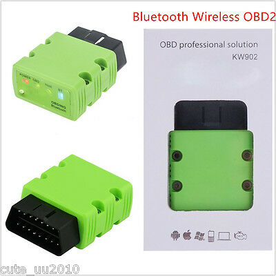 Car Auto Mini Bluetooth Wireless OBD Interface Scanner Diagnostic Automatic Tool
