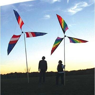GIANT Wind spinner (196cm) Rainbpw garden decor, Shop, Event decoration
