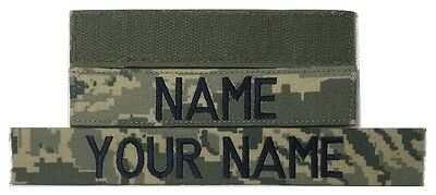 ABU Custom Name Tape with Fastener, Sew-On - US Air Force USAF Military Tape