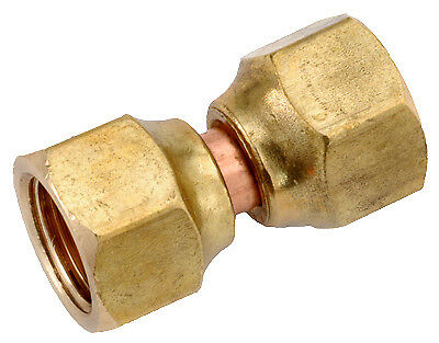 ANDERSON METALS CORP - 3/8-Inch Brass Flare Swivel Nut