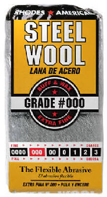 HOMAX PRODUCTS 12-Pack #000 Extra Fine Steel Wool Pads
