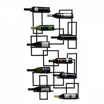 Oenophilia 10024 Mid Century 10 Bottle Wine Rack. Shipping Included