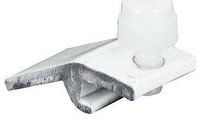 PRIME LINE PRODUCTS 4-Pack White Storm Door Clips