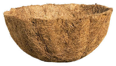 BORDER CONCEPTS Hanging Basket Replacement Coconut Liner, 14-Inch