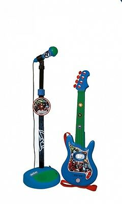 Reig Avengers Assemble Guitar and Microphone Set. Free Delivery