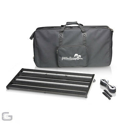 Palmer Pedalbay 80 Lightweight Aluminum Pedalboard With Carry Bag 80cm