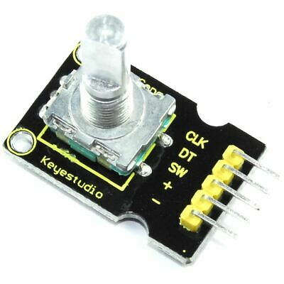 Keyestudio Rotary Encoder Module KS-013 360 6mm Shaft Arduino Pi Flux Workshop