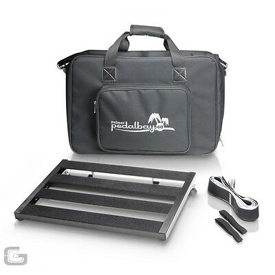 Palmer MI Pedalbay 40 Lightweight Aluminum Pedalboard With Carry Bag