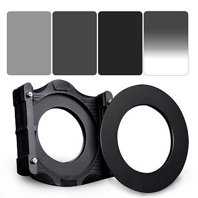 ZOMEI 150*100mm Neutral Density Square filter kit+Holder+72mm Ring for Cokin Z