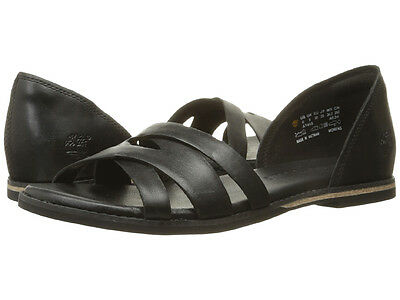 2d53cd2b41 New Timberland Caswell Closed Back Leather Women Sandals Size 8.5 (MSRP  120) blk
