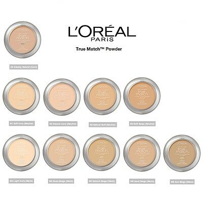 L'oreal True Match Super Blendable Powder With Applicator And Mirror