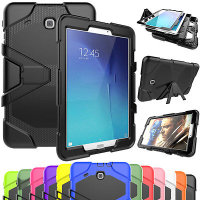 Heavy Duty Shock Proof Case Tradesman Cover Samsung Galaxy Tab A 8 9.7 T350 T550