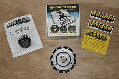 NEW Hinson H141 Billetproof Billet Clutch Basket - Fits Yamaha YZ250F & WR250F