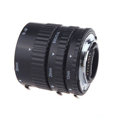12mm 20mm 36mm Full Auto Focus Macro Extension Tube Set for Nikon DSLR Cameras