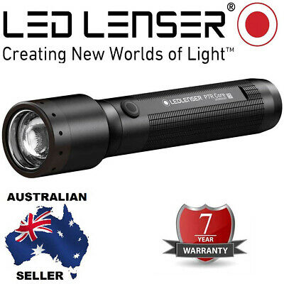 Genuine Led Lenser Rechargeable P7R Torch 7 year Wty Authorised Aussie Seller