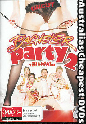 Bachelor Party 2 DVD NEW, FREE POSTAGE WITHIN AUSTRALIA REGION 4